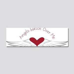 Angels Watch Car Magnet 10 x 3
